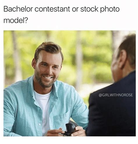Stock Photo Girl Meme - bachelor contestant or stock photo model with norose meme on sizzle