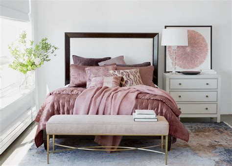 dusty pink hollywood glamour bedroom ideas ethan allen