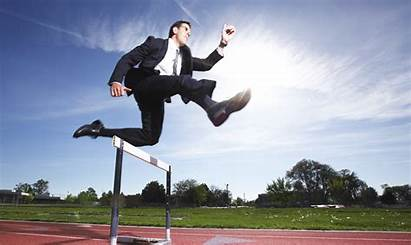 Business Challenges Jumping Hurdle Start Care Service