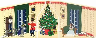 Nutcracker Scene Mouse King Christmas Trio Tree