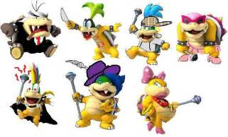 Super Mario Bros Koopalings