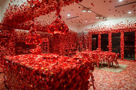 yayoi kusamas flower obsession invites guests  cover