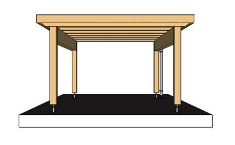 Carport Selber Bauen So Gehts by In 6 Schritte Ein Carport Selber Bauen 183 Baubeaver