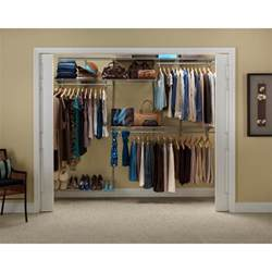closetmaid shelftrack 5 ft to 8 ft nickel closet