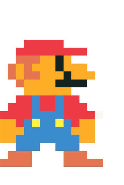 8 Bit Mario Mario Amino
