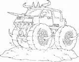 Digger Coloring Grave Truck Monster Printable Backhoe Mutt Fire Getcolorings Getdrawings Jam Colorings sketch template
