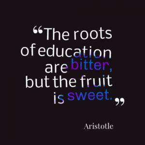 aristotle  education quotes quotesgram