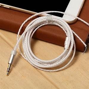 3 5mm Plug Audio Cable 1 2m Earphone Headset Maintenance