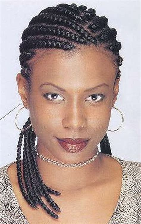 Cornrow For Black Women Short Haircut Styles Pinterest