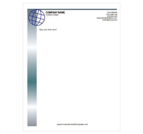 free letterhead template word free letterhead template 14 free word pdf format free premium templates
