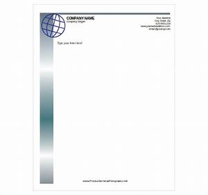 free letterhead template 14 free word pdf format With logo templates free download word