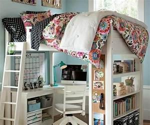 Kleine Kinderzimmer Gestalten : jugendzimmer einrichtungsideen die ihre kinder lieben werden hochbett ~ Orissabook.com Haus und Dekorationen