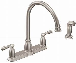 Moen Banbury Kitchen Faucet  8 8 In Spout  8 In Center