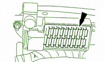 jaguar xj  hand side fuse box diagram circuit