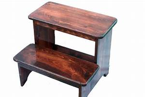 Step Stools » Andy's World of Wood - Hand Crafted