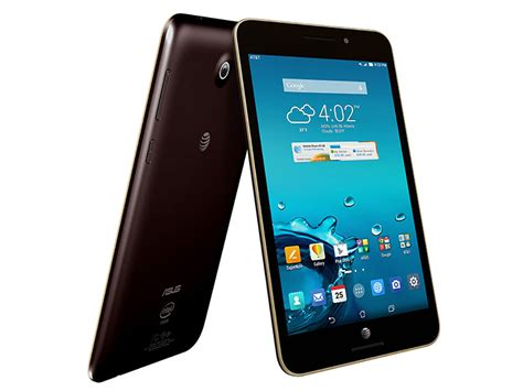 at t android tablet asus memo pad 7 lte lands exclusively on at t starting