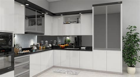 models kitchen modern black white kitchen