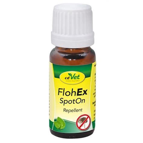 flohex spoton ist die pflanzliche alternative zu den