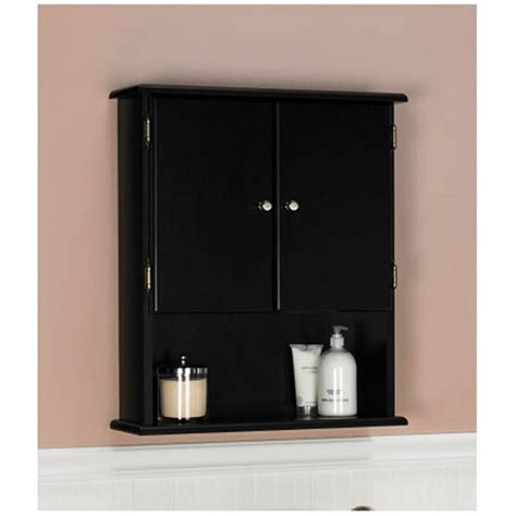 Walmart Bathroom Wall Cabinets by Ameriwood Wall Cabinet 5305045 Walmart