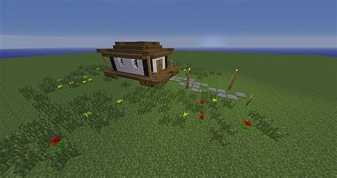 asianoriental small house minecraft map