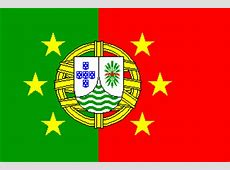 "Marco Lino's flag proposals for a ""Portuguese Confederation"""