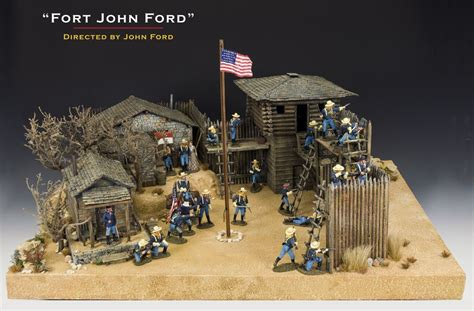 fort west military wild diorama soldier soldiers ford figures action plastic toy john apache display toys building miniatures western dioramas