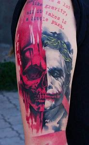 Best Joker Tattoo Ideas And Images On Bing Find What You