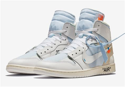 off white air jordan 1 official release info