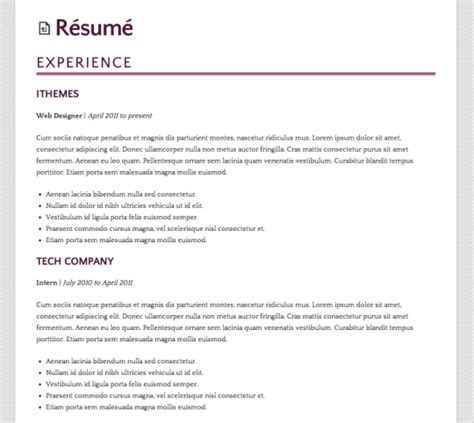 Building A Resume With Experience by How To Build A R 233 Sum 233 Site Using Ithemes Builder