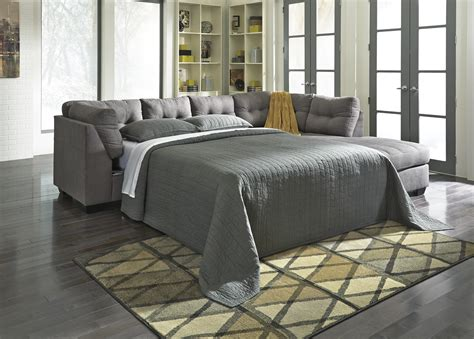 sleeper sofa sectional couch 2 piece sectional w sleeper sofa right chaise by