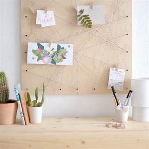Pinnwand Selbst Gestalten : at least pinnwand diy memoboard selber machen ~ Lizthompson.info Haus und Dekorationen