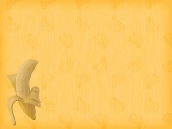 banana  powerpoint template