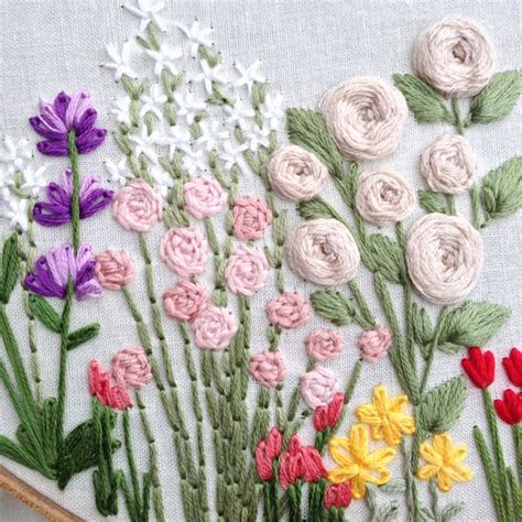 The best free embroidery patterns you can download and sew right now. Wildflowers Hand Embroidery Pattern: Beginner Pattern ...