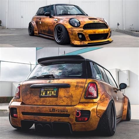 Cooper Liberty Walk by Liberty Walk Mini Cooper By Ltmw And Wrapped In Custom