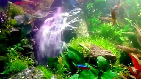 unterwasser wasserfall im aquarium youtube