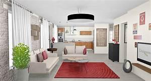 Sejour Style Industriel : d coration d 39 une maison compl te linas 91 designement v tre ~ Teatrodelosmanantiales.com Idées de Décoration