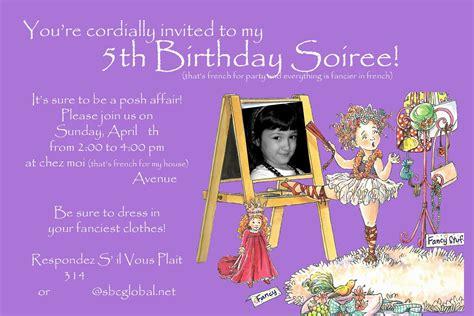 5th birthday invitation card template birthday invitation card maker free in 2019