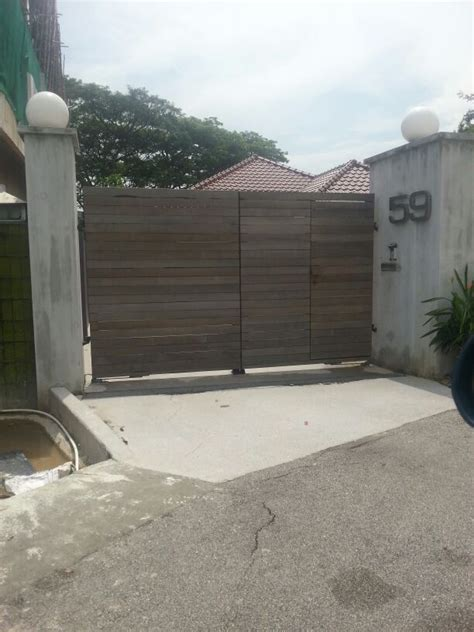 driveway configurations custom swing or slide driveway gate and gate ornamentals for singapore commercial and