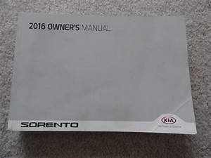 2016 Kia Sorento Owners Manual Pdf