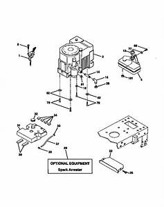 Engine Diagram  U0026 Parts List For Model 917272011 Craftsman