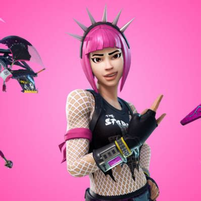 fortnite power chord skin outfit pngs images pro