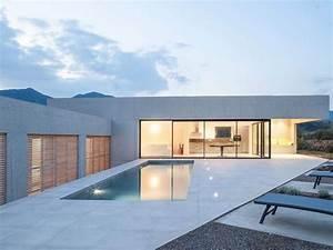 Plan De Maison D Architecte : maison architecte piscine ~ Melissatoandfro.com Idées de Décoration