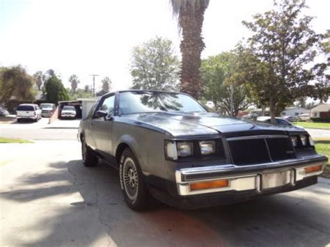 1985 Buick Regal T Type by Buy Used 1985 Buick Regal T Type Wh1 In Riverside