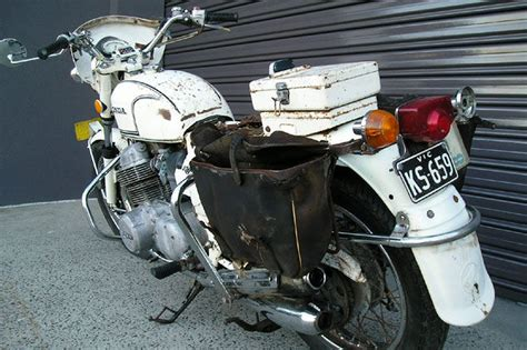 Honda Cb750 Four 'police' Motorcycle Auctions