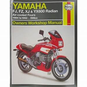 Haynes Yamaha Motorcycle Repair Manual