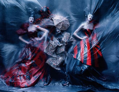 Dark Angel Tim Walker For Vogue March