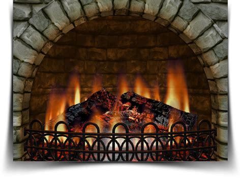 Realistic Fireplace Screensaver - 3d realistic fireplace 3 9 6 screensaver ılımsız