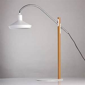 Lampe A Poser Led : lampe poser led design predicta 70cm blanc ~ Dailycaller-alerts.com Idées de Décoration