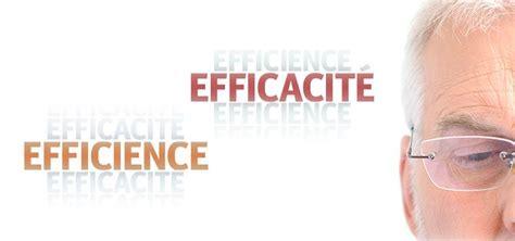 efficacite  efficience