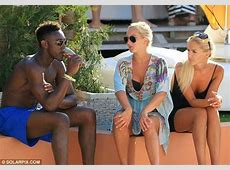 Holiday Boy, Welbeck Chills Out With Blonde Beauties in